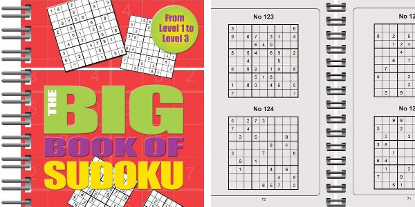 Big Book of Sudoku: Over 500 Puzzles & Solutions, Easy to Hard Puzzles for Adults de Parragon Books