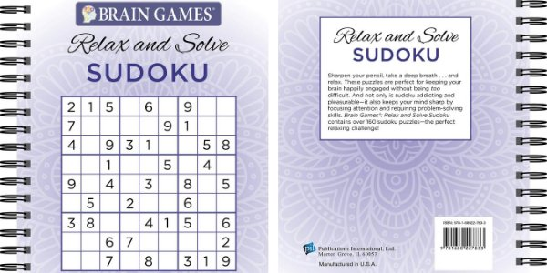 Brain Games - Relax and Solve: Sudoku