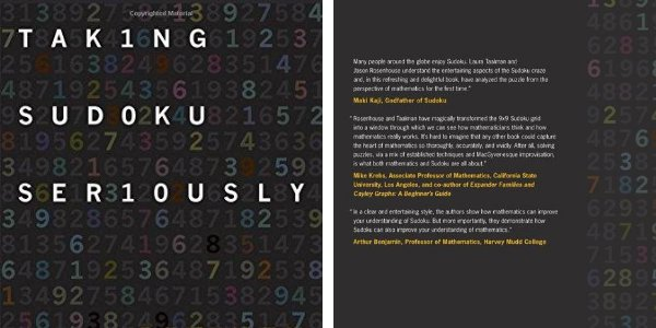 Taking Sudoku Seriously: The Math Behind the World's Most Popular Pencil Puzzle de Jason Rosenhouse e Laura Taalman